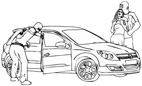 4. The All-You-Can-Take game: Pussyblaster getting in the car